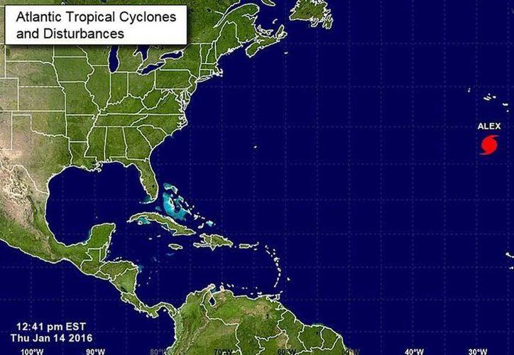 El huracán se encuentra a cinco mil 870 kilómetros del noroeste de Quintana Roo. (National Hurracane Center)