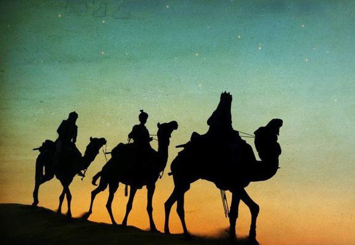 La tradición nos cuenta sobre tres Reyes Magos que emprendieron su camino desde Oriente. (Contexto/Internet)