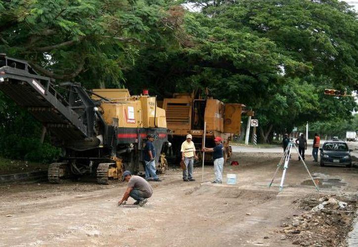 Son 100 millones de pesos los que servirán para la continuación de los trabajos de reconstrucción y pavimentación de la calle 60. (Milenio Novedades)