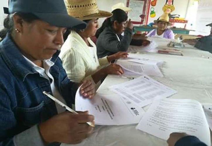 Al menos en 100 comunidades de Othón P. Blanco y Bacalar, los programas para leer y escribir están abandonados. (Carlos Castillo/SIPSE)