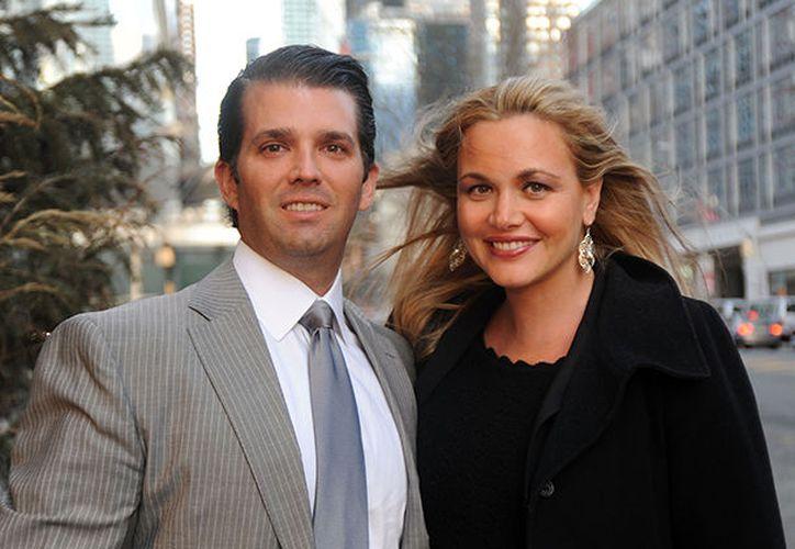 Trump Jr. se casó con Vanessa en noviembre del 2005. (Contexto)