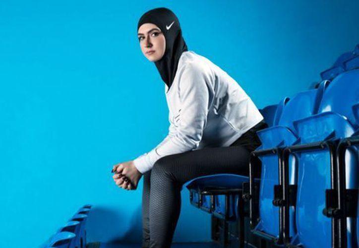 El futuro modelo de Pro-Hijab. (Religion News Service)