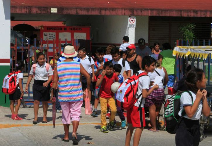 Los alumnos de educación básica fueron evaluados durante el mes de junio. (Ángel Castilla/SIPSE)
