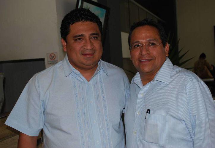 Los representantes nacionales de los partidos políticos realizan visitas a varios estados del país. (Tomás Álvarez/SIPSE)