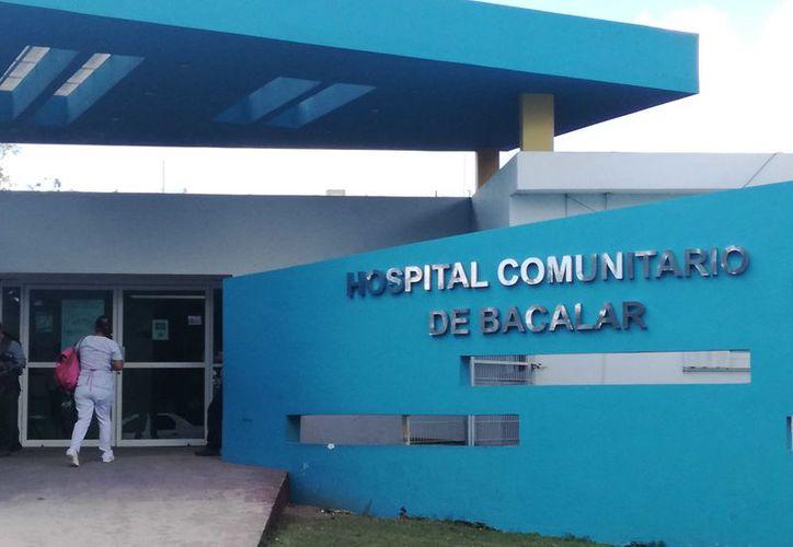El Hospital Comunitario de Bacalar llevó a cabo las indagatorias de manera conjunta con personal de la Comisión de Derechos Humanos del Estado de Quintana Roo. (Javier Ortiz/SIPSE)