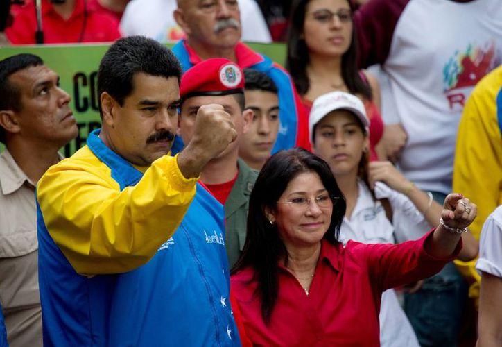 Las relaciones entre EU y Venezuela podrían endurecerse aún más con la acusación directa por narcotráfico contra dos sobrinos de la primera dama, Cilia Flores. (AP)