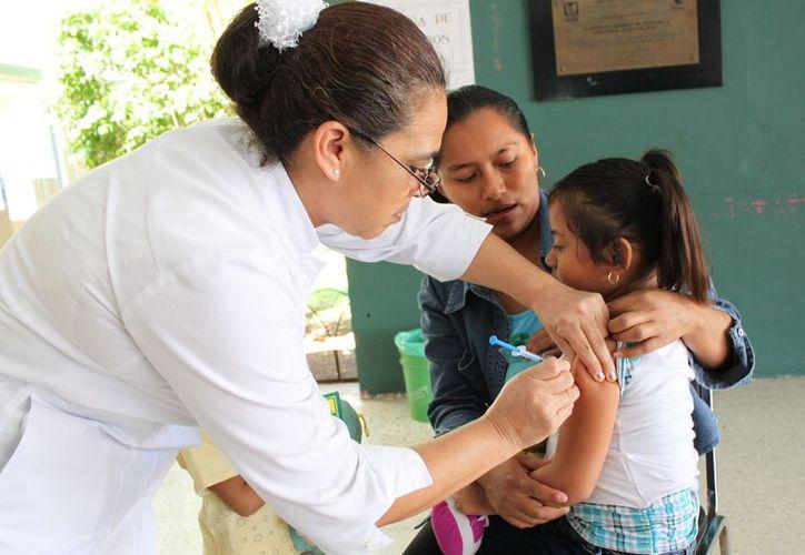 En esta semana estarán instalados 292 puesto donde atenderán 323 vacunadores. (Joel Zamora/SIPSE)