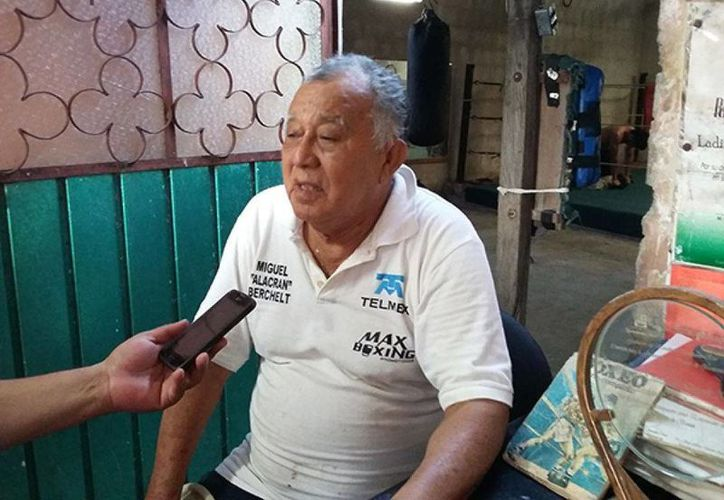 """El """"Chino"""" Celis recuerda con agrado a Miguel Berchelt en sus inicios. (Milenio Novedades)"""