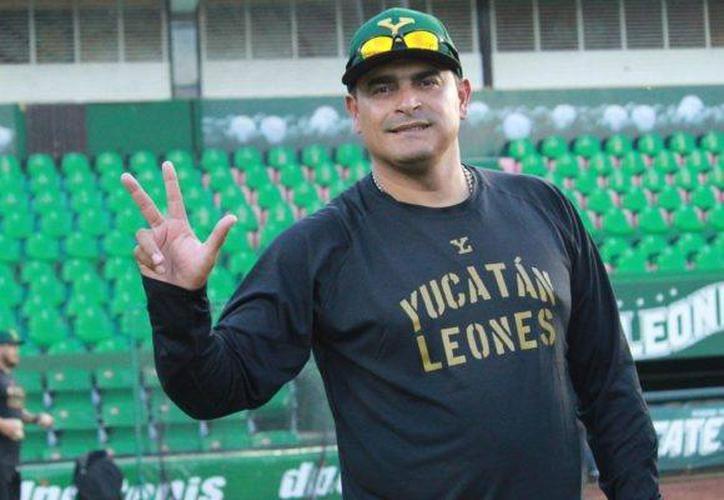 Gerónimo Gil continuará al frente de los Leones. (Novedades Yucatán)