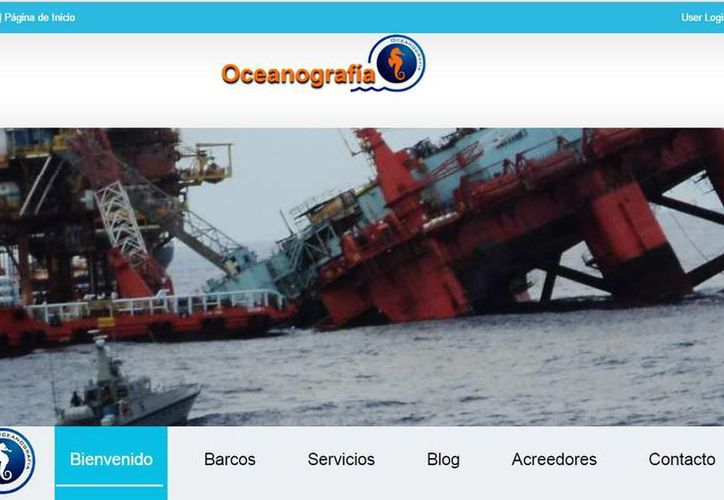 El Grupo Alemán consideró rescatar a Oceanografía pero desistieron al descubrir que la deuda era mayor a la conocida originalmente. (oceanografia.com.mx)