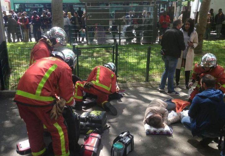 El hombre abrió fuego en el departamento francés de Altos del Sena, al oeste de París. (Foto: medio Francés LP/V.M.)