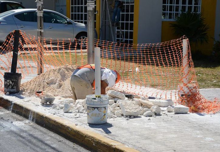 Las obras de mantenimiento se realizarán de manera rápida para no afectar a los usuarios. (Consuelo Javier/SIPSE)