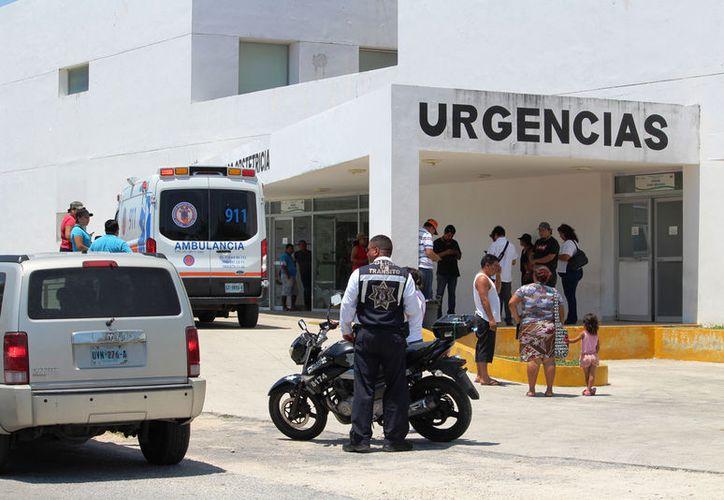 Debido a los recurrentes accidentes en Playa del Carmen, urgía un neurocirujano en el hospital. (Foto: Octavio Martínez)