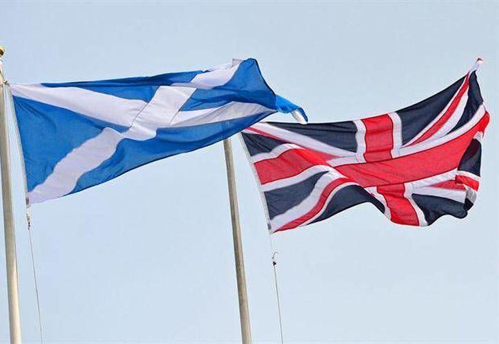 El diseño de la Union Jack es reconocible y testigo del poderío de la Marina británica. (AFP)