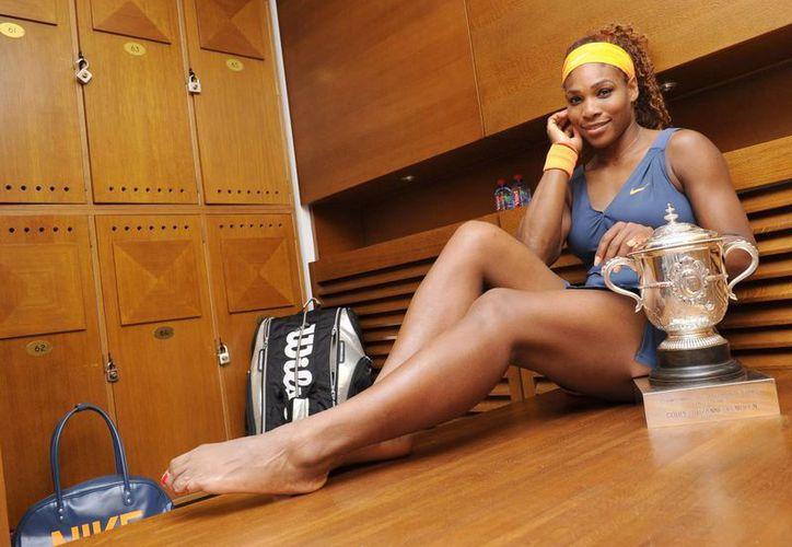 Serena Williams confesó que las medicinas que toma la ponen en riesgo de dar positivo en antidoping. (Foto: Agencias)