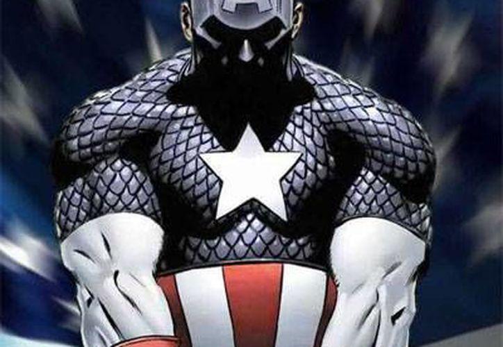 El Capitán América luchó en sus inicios contra los nazis.(fightersgeneration.com)