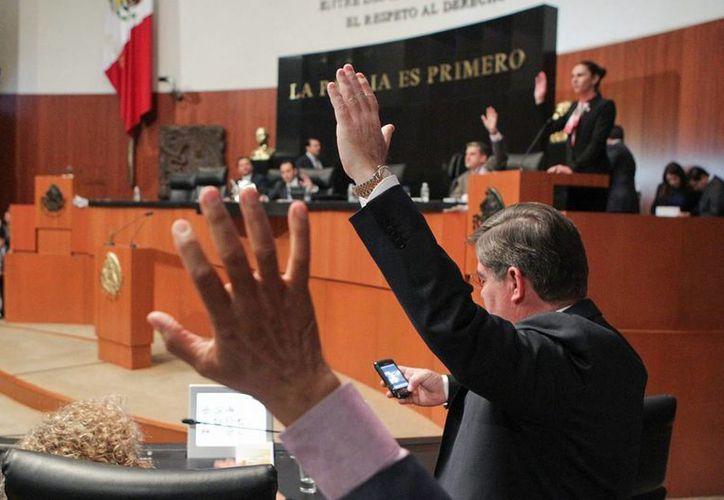 Las comisiones del Senado aprobaron por unanimidad las últimas dos minutas que complementan el Sistema Nacional Anticorrupción. (Notimex/archivo).