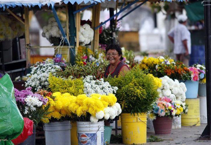 El Día de Muertos genera una intensa actividad comercial en Mérida. (Christian Ayala/SIPSE)