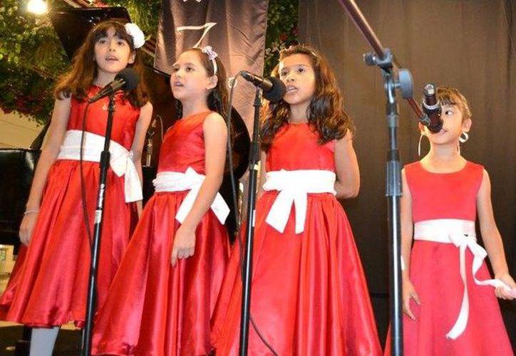 En el concierto participan niños y niñas desde los cinco años. (Redacción /SIPSE)
