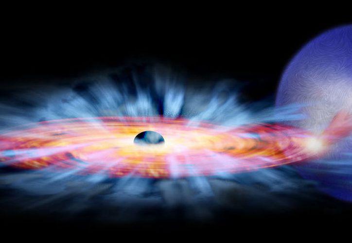 Se trata del sistema denominado MAXI J1621−501, que se ubica a unos 16.300 años luz de la Tierra. (Foto: AP)