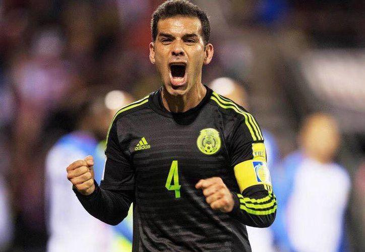 Rafa Márquez, capitán de México, publicó un tuit en donde resalta que nadie puede detener a los mexicanos.(Foto tomada de Facebook/Rafa Márquez)