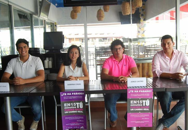 Los jóvenes organizadores recibirán las propuestas hasta el próximo 3 de junio. (Tomás Álvarez/SIPSE)