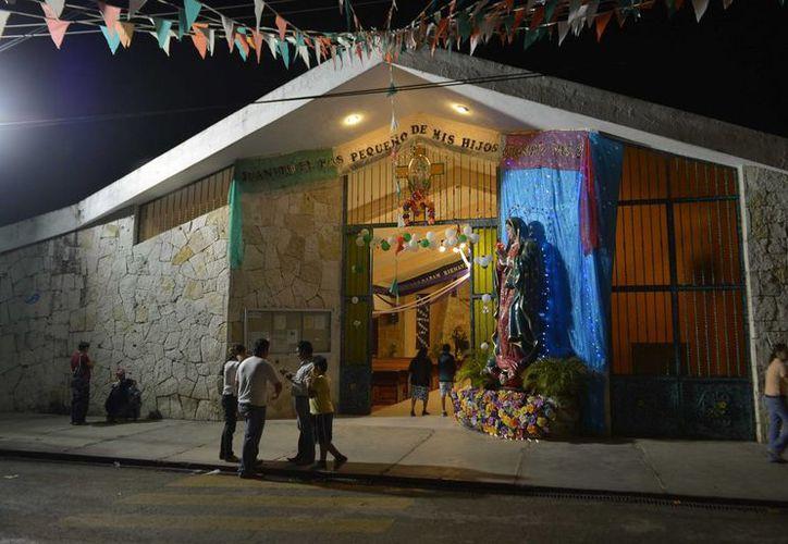 El 30 de noviembre inician los festejos por el 40 aniversario de la Iglesia de Guadalupe. (Gustavo Villegas/SIPSE)