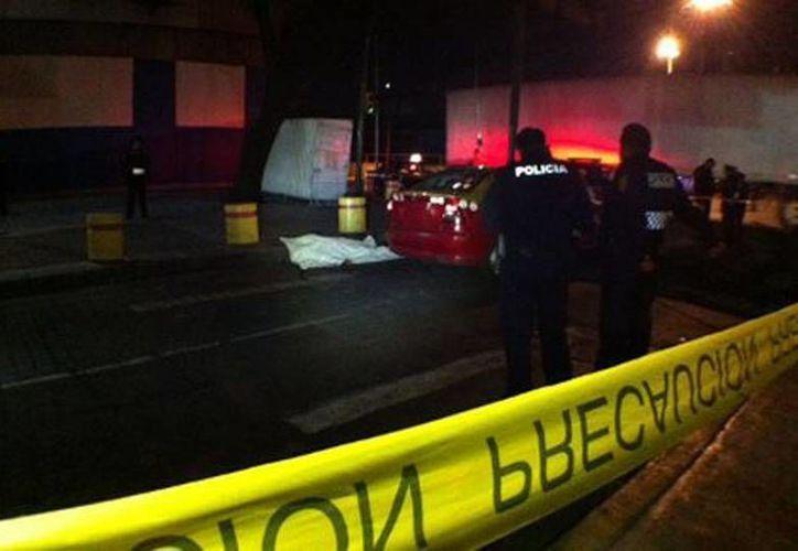 José Ramón Fontanet Rendón se bajó de su vehículo y entonces lo acribillaron. (Milenio/Foto de contexto)