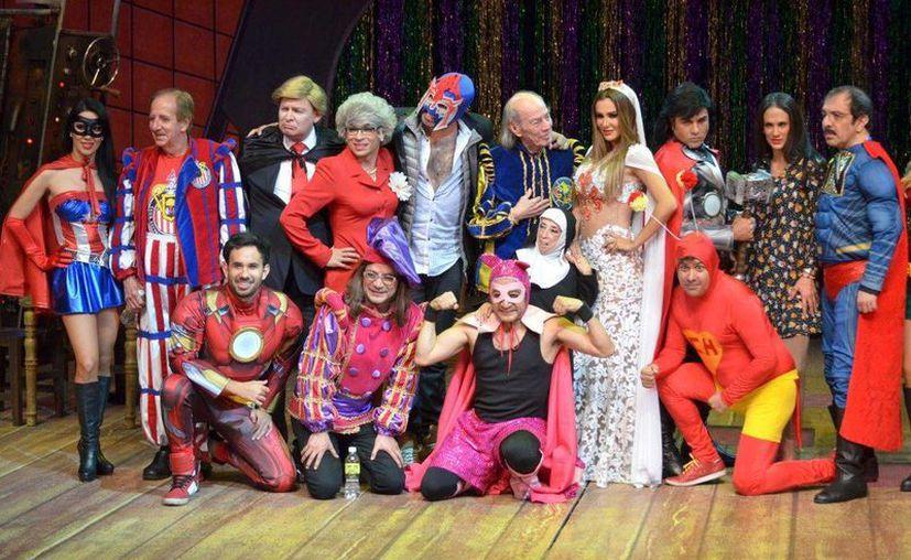 La comedia concluirá sus presentaciones en el Teatro Aldama. (Foto: Redacción)