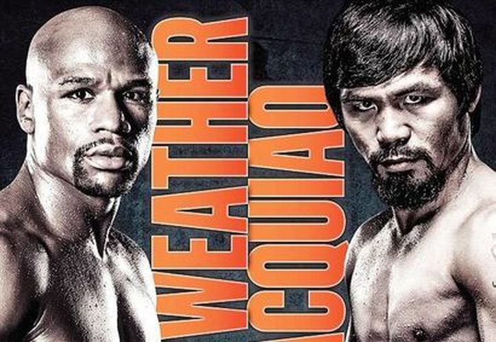 El combate entre los boxeadores Floyd Mayweather Jr. y Manny Pacquiao va tomando forma. Ahora ya cuenta con poster oficial. (Foto tomada de dailymail.co.uk)