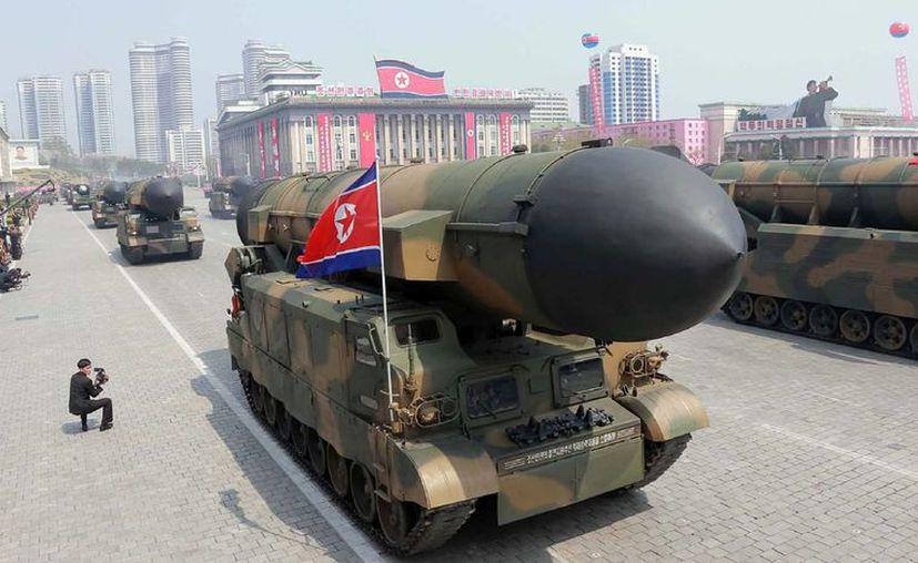 Corea del Norte comenzó a practicar el ataque a portaaviones de Estados Unidos. (Foto de contexto/El País)
