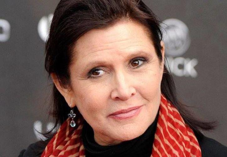 La actriz Carrie Fisher, la Princesa Leia de 'Star Wars', falleció el pasado 27 de diciembre, a causa de problemas en el corazón.(Archivo/AP)