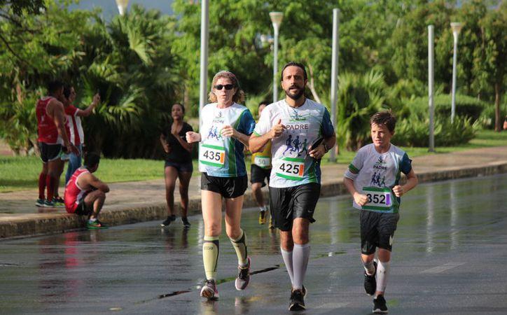 El evento se realizó en el circuito de la avenida Bonampak. (Raúl Caballero/SIPSE)
