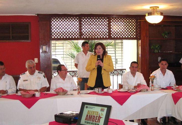 La fiscal Celia Rivas destacó la suma de esfuerzos en seguridad. (Milenio Novedades)
