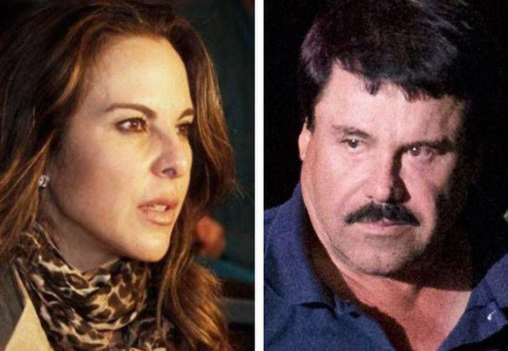 La historia de Kate del Castillo y Joaquín Guzmán Loera parece continuar y podría tener una segunda parte en las cárceles de Estados Unidos. (Archivo/ Milenio Digital)