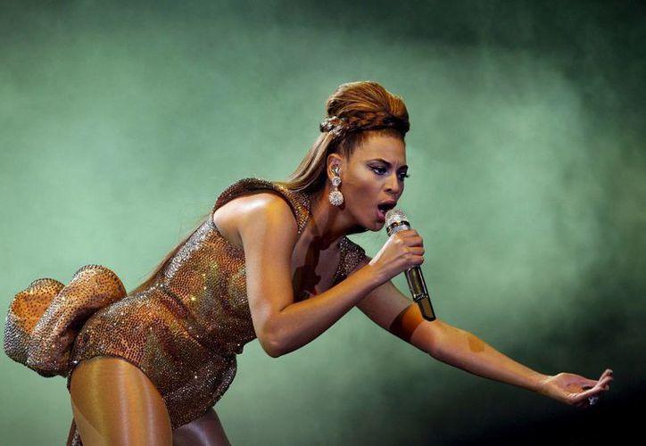 Beyonce no fue considerada en esta ocasión para competir por la mejor canción del año. (EFE)