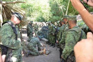 Así entrenan los militares en Xtomoc