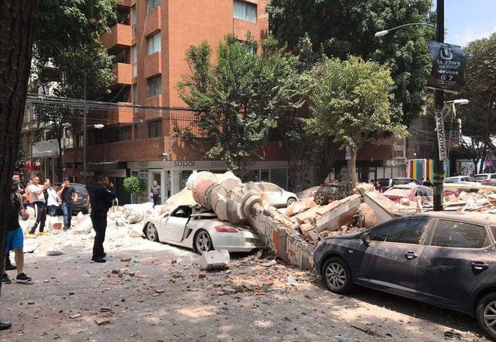 El sismo se registró a las 13:14 horas en los límites de Morelos y Puebla. (Contexto)