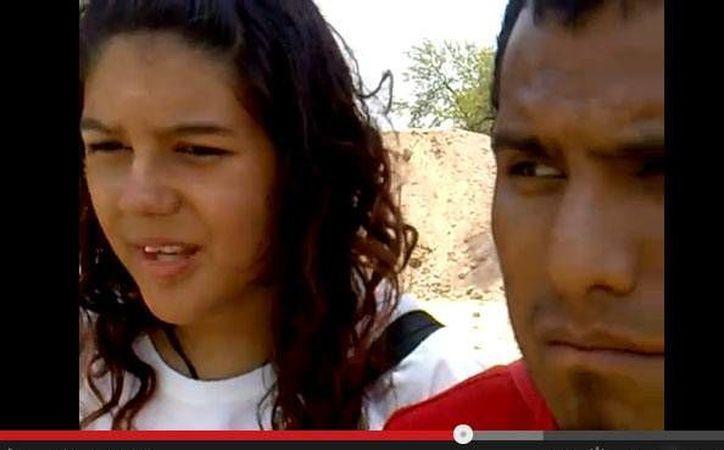 El video que subieron a Youtube fue clave para que localizaran a la pareja.