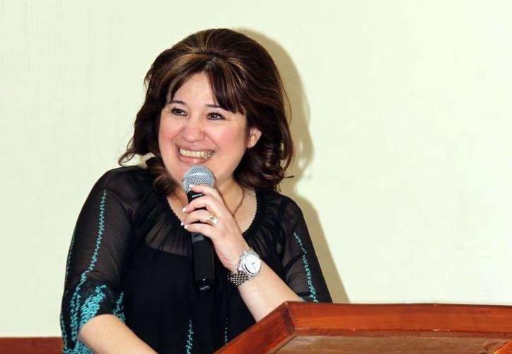 Celia Rivas Rodríguez, extitular de la Fiscalía General, es la nueva presidenta del Congreso de Yucatán. (SIPSE)