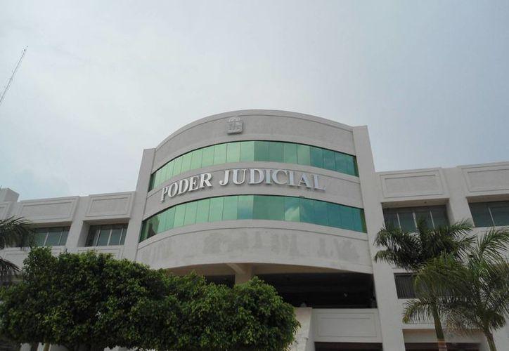 El martes se inaugurará el área donde se realizarán los juicios orales en Playa del Carmen. (Octavio Martínez/SIPSE)