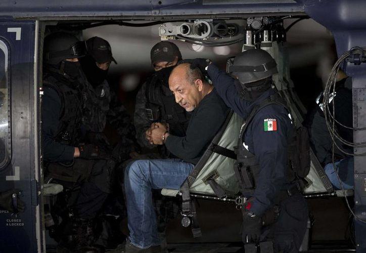 El narcotraficante Servando Gómez, 'La Tuta', se reservó su derecho a declarar este sábado. (Notimex)