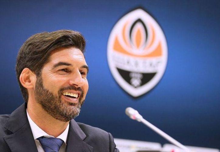El portugués Paulo Fonseca, nuevo entrenador de Roma. (Foto: Imagen tomada del Twitter de @Shalom_Sports)