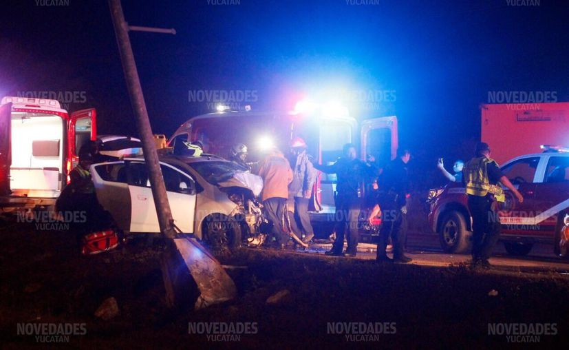 La tragedia embarga a una familia en Periférico de Mérida. (Jorge Pallota/SIPSE)