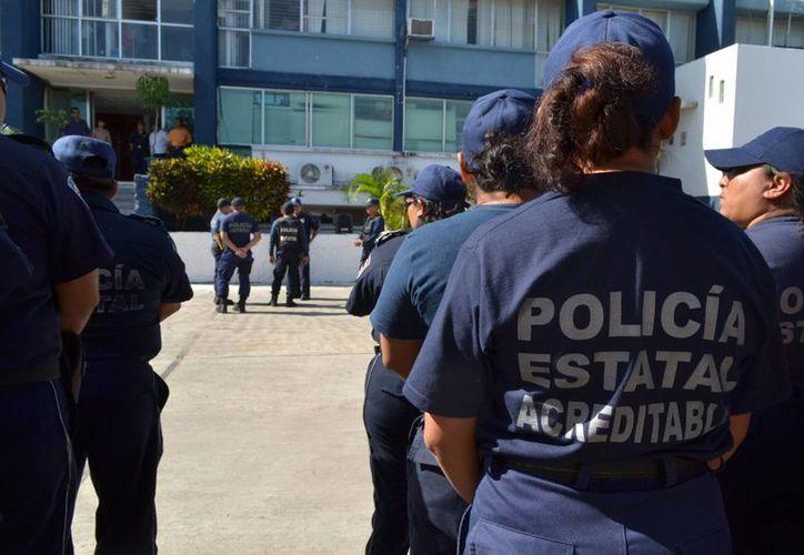 El mando único policíaco estará a cargo de la seguridad del evento. (Harold Alcocer/SIPSE)