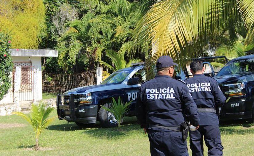 Piden más presencia de policías en las comunidades rurales para atender los casos de robo. (Carlos Castillo/SIPSE)