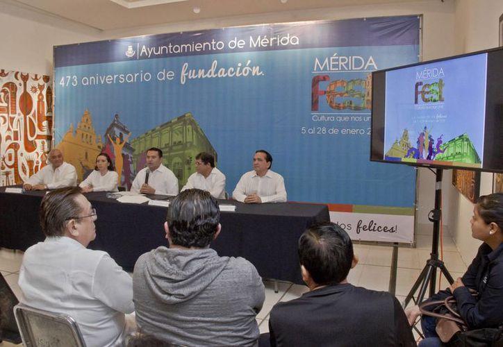 El Mérida Fest 2015, que se llevará a cabo del 5 al 28 de enero comenzará con la tradicional 'Alborada'. (Cortesía)