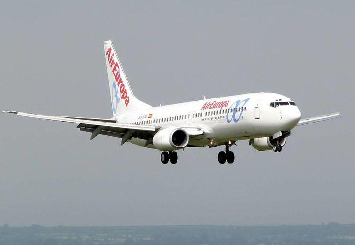 Air Europa actualmente tiene cuatro vuelos a la semana desde España. (Foto de Contexto/Internet)