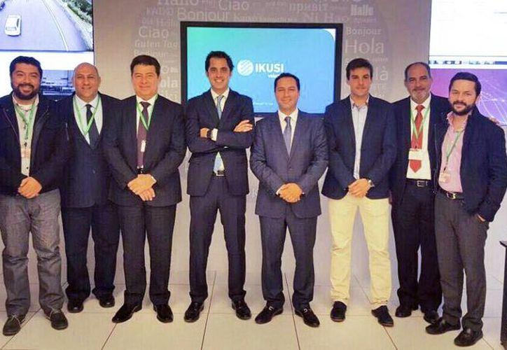 El Alcalde de Mérida, Mauricio Vila Dosal, escuchó las bondades del proyecto a aplicarse en 2017, durante su visita en San Sebastián, España. (SIPSE)