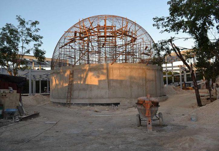 El proyecto presenta un avance del 60% de construcción. (Redacción/SIPSE)